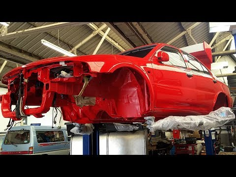 2000 Mitsubishi Lancer Evolution VI Tommi Makinen Edition Restoration Project