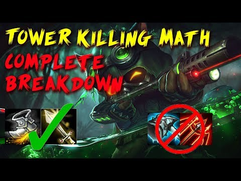 Max Damage to Towers: Indepth Math