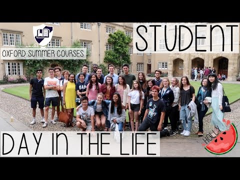 OXFORD SUMMER COURSES | STUDENT DAY IN THE LIFE IN CAMBRIDGE 2017 | HOLLY GABRIELLE