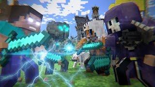 Batalha no Mega Walls - FILME (Minecraft Animation)
