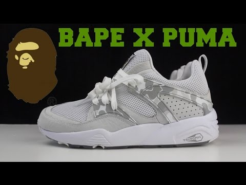Bape x Puma Sneaker Pick Up +  Review!