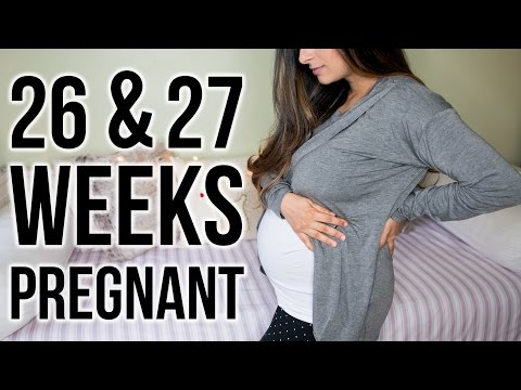 26 & 27 WEEKS PREGNANT: She Has A Name, Early Labour Anxiety & Weird Pelvic Pains | Ysis Lorenna