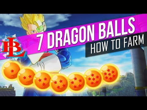 Dragon Ball XENOVERSE 2 HOW TO FARM and GET ALL DRAGON BALLS - How to Get all 7 Dragon Balls in XV2