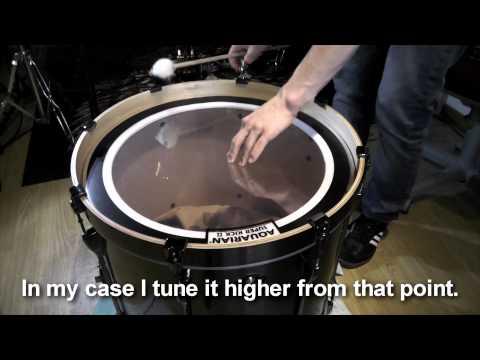 Bass-Drum Tuning