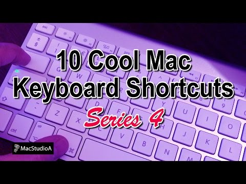 Top 10 Cool Mac OS X Keyboard Shortcuts Series 4
