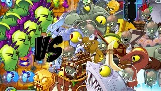 Download Plants vs Zombies 2 Epic Hack : Dusk Lobber vs Each Zombots Specials! Video