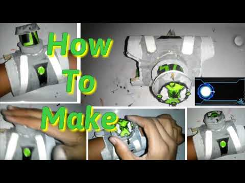 How to make Ben10 Classic Omnitrix with alien changer and with popup dial