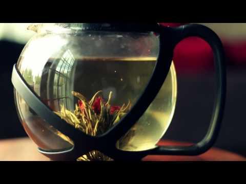 Flowering Tea (HD - TimeLapse)