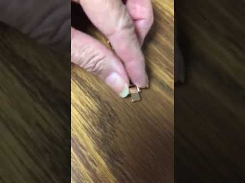 How to open watch clasp