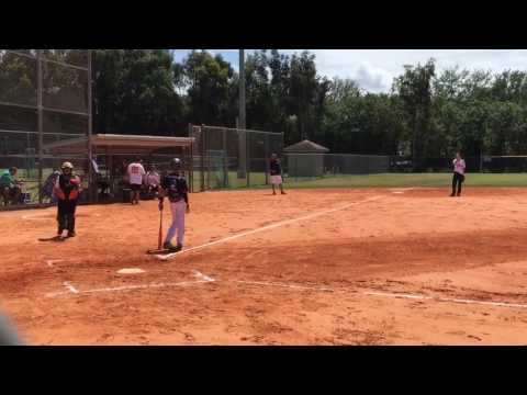 Insane HomeRun with illegal bat EJECTED!!!