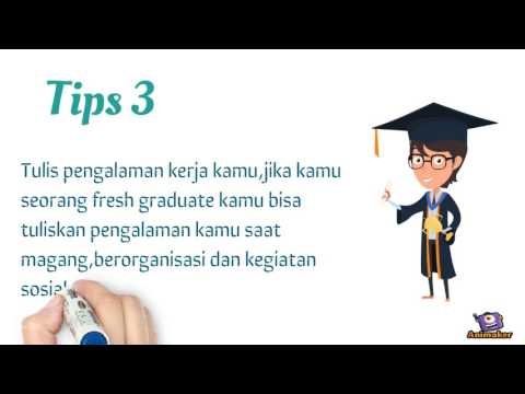 Tips Membuat CV bagi Fresh Graduate