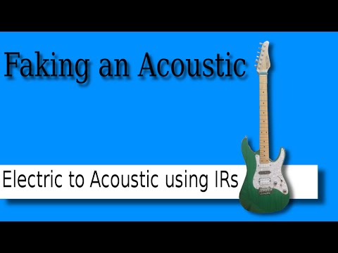 Acoustic Guitar simulation using IRs