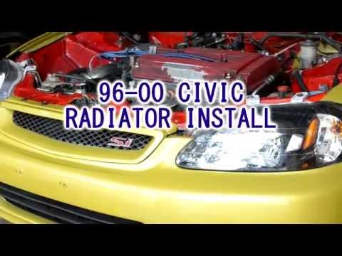 DIY - 96-00 Honda Civic Radiator Install
