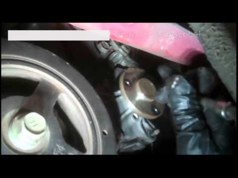 Water pump replacement 2000 Toyota Echo 1.5L  2000-2005 Many Toyota Models covered