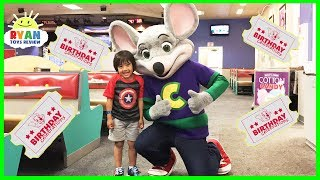 CHUCK E CHEESE Family Fun Indoor Activities for Kids with Children Play Area and Games