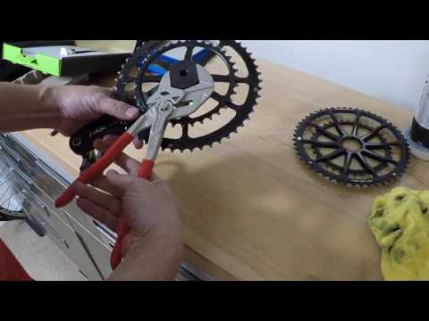 Remove Cannondale chain rings