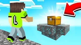 I Found A SECRET TREASURE Island In SKYBLOCK! (Minecraft)