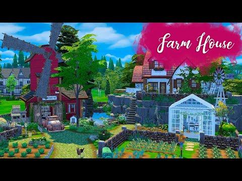 FARM HOUSE Sims 4 || Speed Build || Simsbiosis