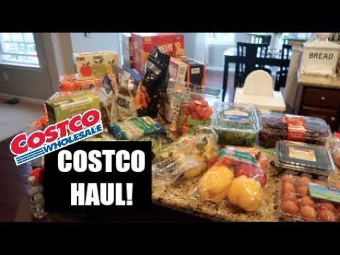 COSTCO GROCERY HAUL // $230 SPENT // FAMILY OF 5