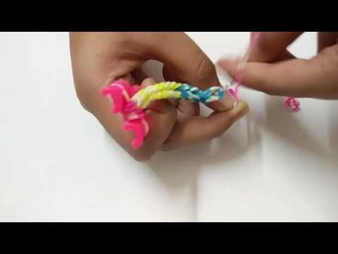Loom Band - Easy Fish Tail - Awsome - Ring, Bracelet - DIY