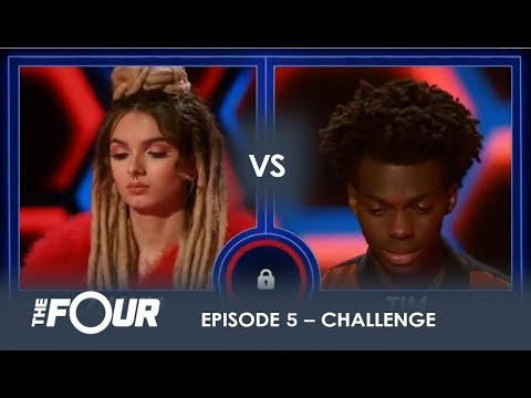 Zhavia vs Tim: The Most INTENSE Battle Of The Season - Do Not BLINK!  | S1E5 | The Four