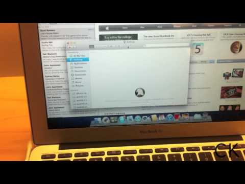 How to use AirDrop to transfer files in Mac OS X Lion