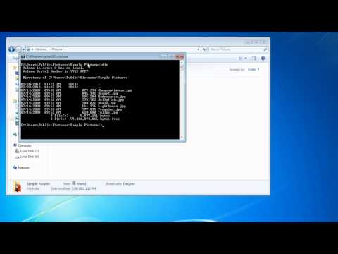 How to access Command Prompt from any folder in Windows 7