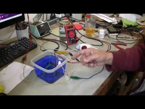#426 Part 2 Electroplating Plastic Time Lapse