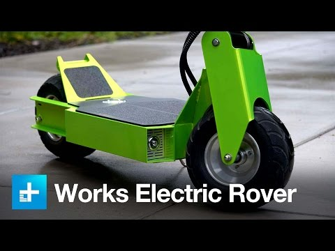 There is such a thing as a badass scooter, and Works Electric calls it the Rover