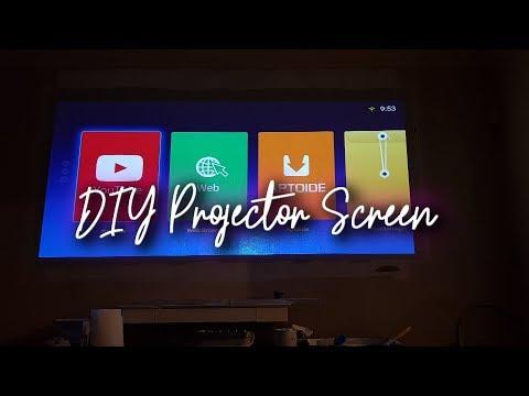 DIY Gray Projector Screen Is It Worth It?