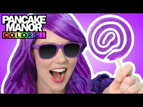 Purple Song | Colors for Kids | Pancake Manor