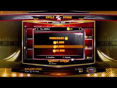 NBA 2k13:  How To Buy Coins