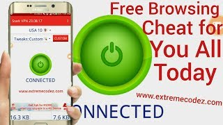 New MTN Free Browsing Cheat Settings Via COMBO Vpn - The