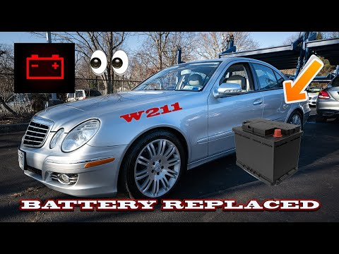 BENZWERKS E-CLASS AND CLS VEHICLE BATTERY REMOVAL