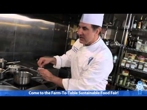 Preview the Farm to Table, Sustainable Food Fair Cooking Demo