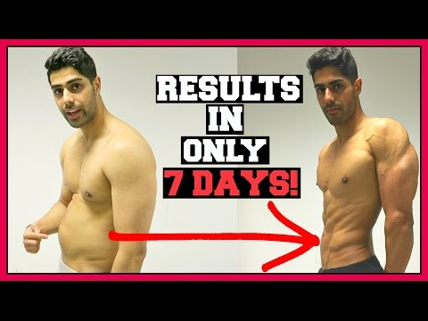 How To Get Abs In 1 WEEK For Teenagers At Home FAST