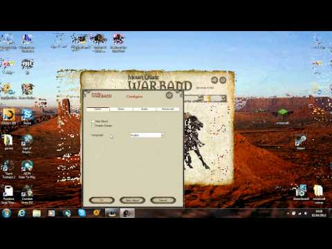 how to enable your cheats for mount and blade warband