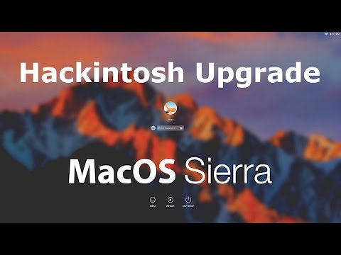 Hackintosh Sierra Upgrade with Nvidia web driver