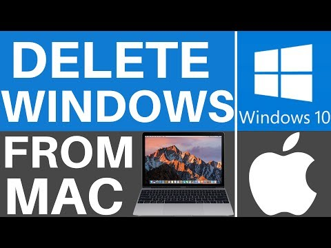 How To Remove Windows Partition From Mac