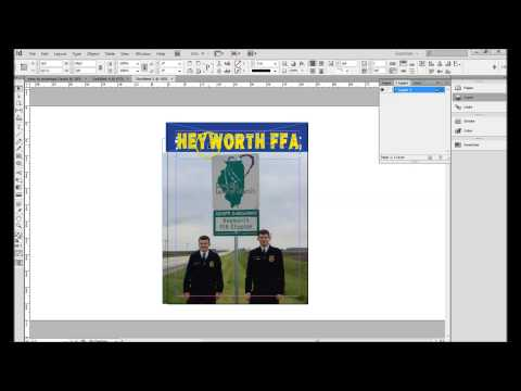 How to make a Magazine Cover in Adobe InDesign