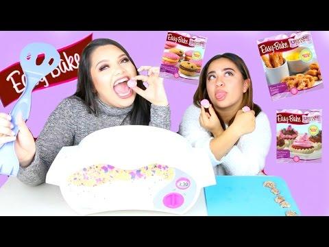 Ultimate Easy Bake Oven! Easy Bake Challenge! Nickelodeon & Hasbro Sponsored!