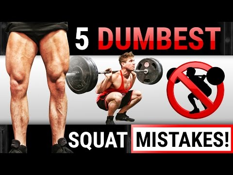 5 Dumbest Squat Mistakes Sabotaging Your Leg Growth! | STOP DOING THESE!