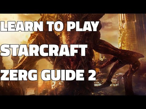 Learn to play Starcraft: Zerg Starter Guide #2 [BUILD ORDER] (Updated 2017 LOTV)