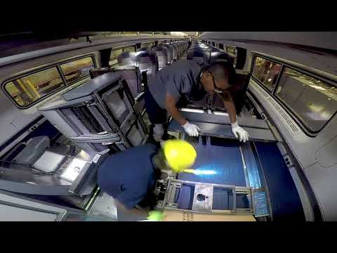 Behind The Scenes: Refreshed Amtrak Interiors