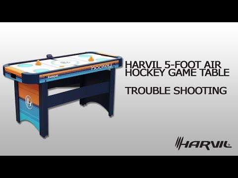 Trouble Shooting | Harvil 5 Foot Air Hockey Table 86047 | Air Hockey Table | Dazadi.com