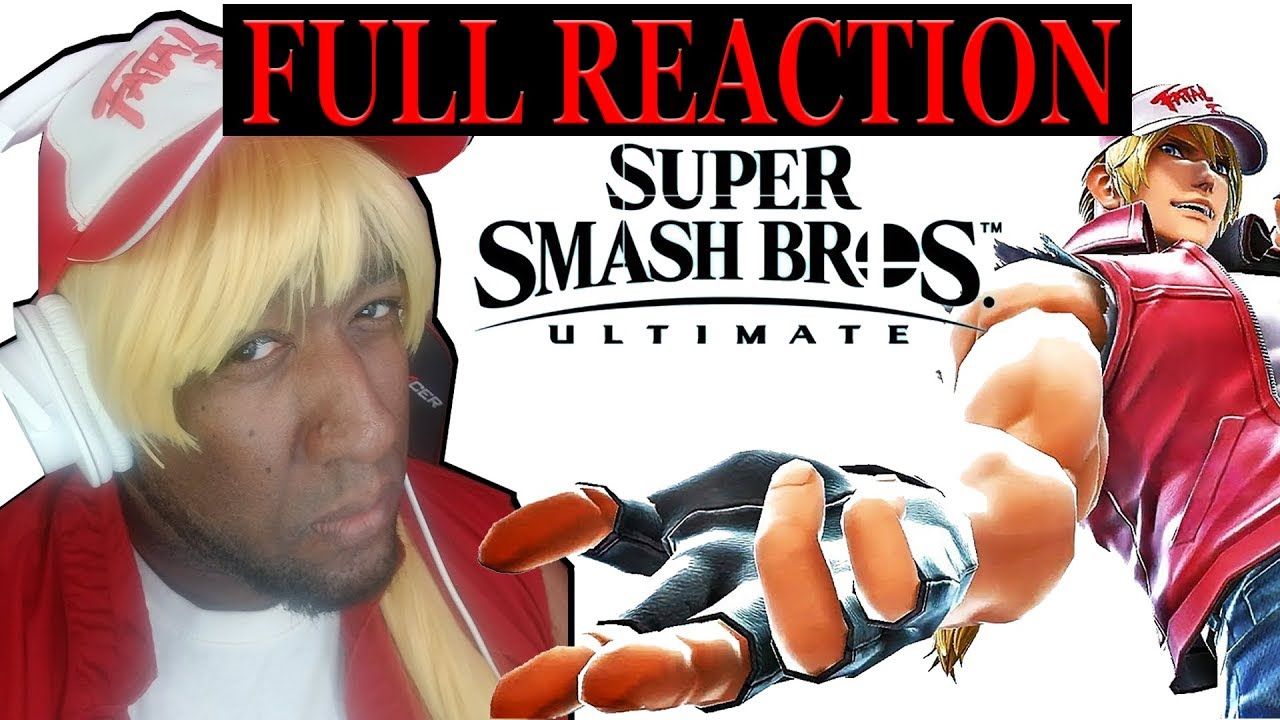 FULL REACTION - TERRY BOGARD SMASH DIRECT - THOUGHTS AND OVERVIEW - BEST REACTION FOR SMASH DIRECT