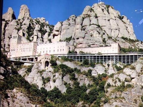 Montserrat, Day tour from Barcelona Spain. Best ever in Catalonia.