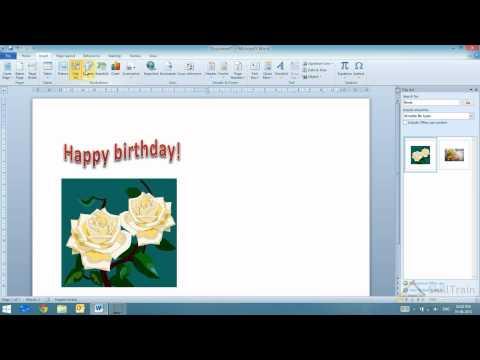 Working with Word Art in MS Word (Hindi) (हिन्दी)