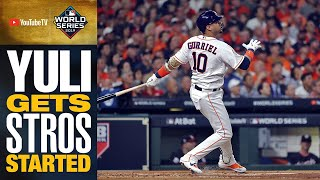 Yuli Gurriel comes up BIG, gets Astros on board first with 2-run double in World Series Game 1
