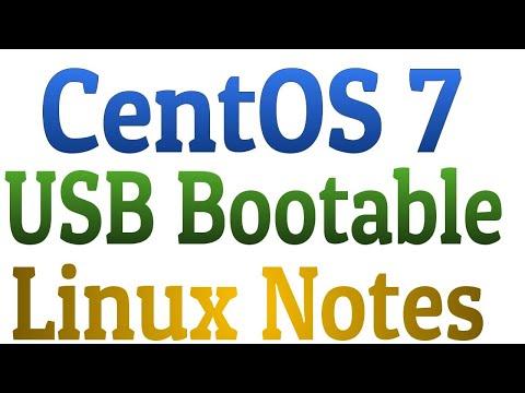 How to create CentOS7 usb bootable